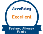 Avvo Rating - Excellent - Featured Attorney Family